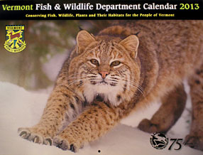 VT Fish & Wildlife Calendar